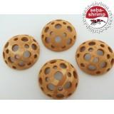 Semisfera perforata ceramica